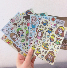 Custom Design Adhesive Stickers Custom Sheet Kiss Cut Stickers For Planner