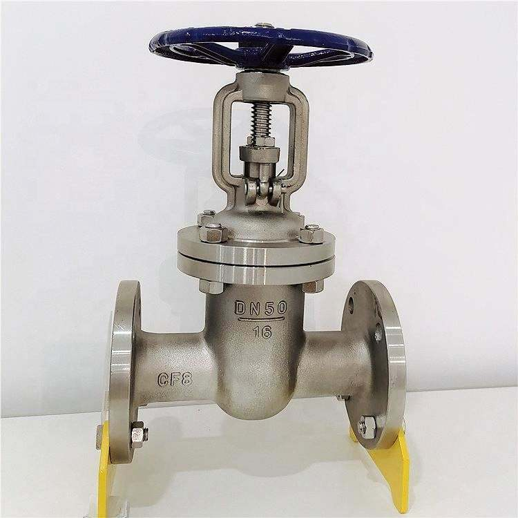 "Cf8/Stainless Steel Flanged Naik Spindle 2 ""Inch Gate Valve"
