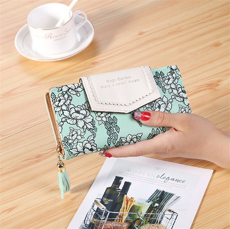 Woman Wallet 2019 Designer Travel Wallet Rfid Family Long Wallet Leather Paris