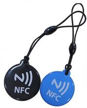 Passive Contactless Waterproof 13.56mhz NFC RFID epoxy Chip Tags Sticker