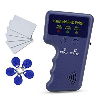 Cheapest handheld 125KHz ID Card RFID Copier/Writer/Reader/Duplicator