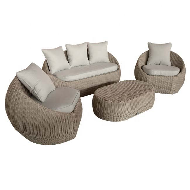 Morden Outdoor Garden Patio Darwin 4pcs Furniture set