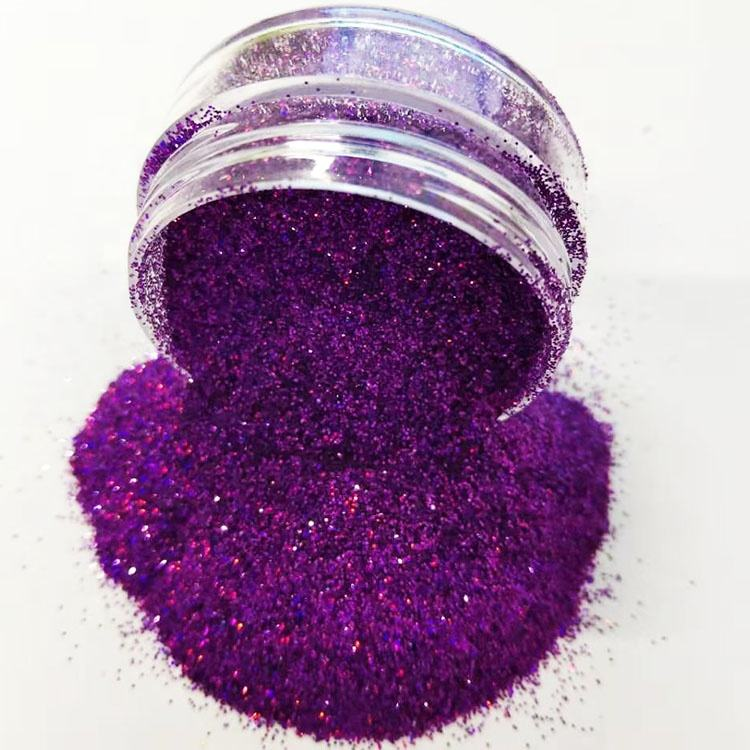 PET PVC or Aluminum glitter material and Christmas Occasion bulk cosmetic glitter