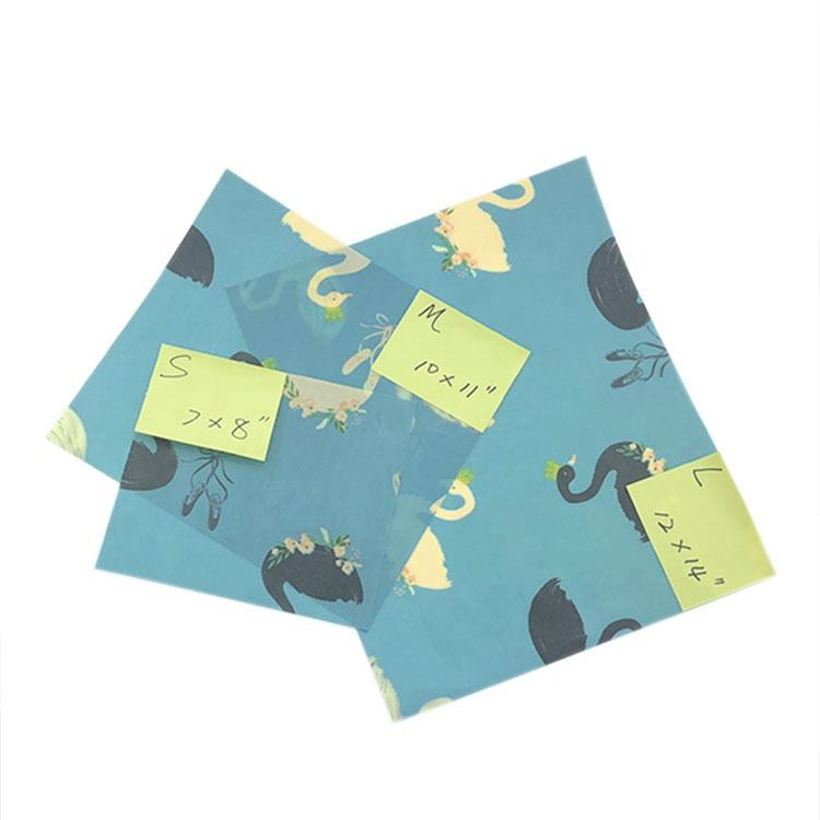 Hot Selling Qualify Natural Organic Beeswax Cloths Beeswax Cloth Food Wraps