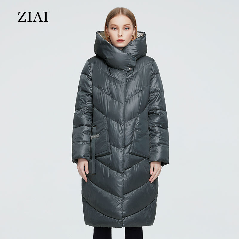 New fashion female padded coat windproof plus size quilted coats parka abrigos de mujer european style women winter coats