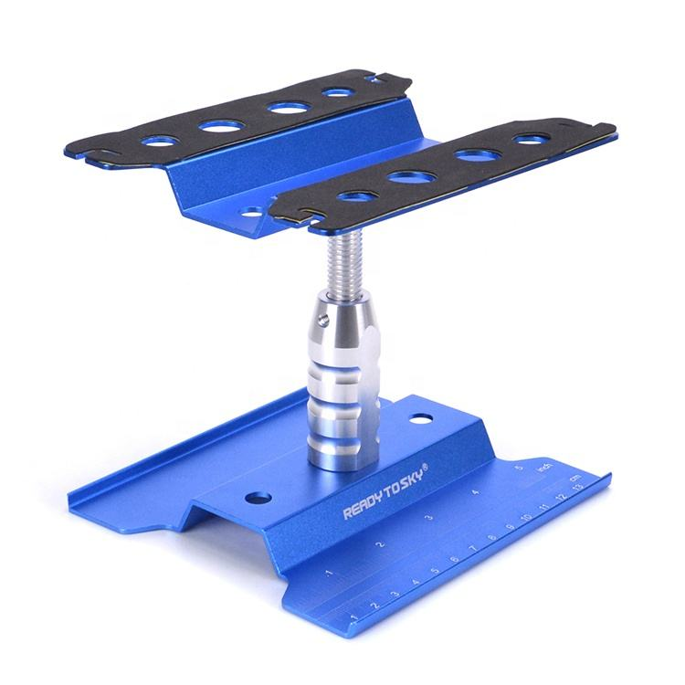 Metal Aluminum RC Car Workstation Heightening Work Stand Repair 360 Degree Rotation For 1/8 1/10 1/12 1/16 Car Model SCX10