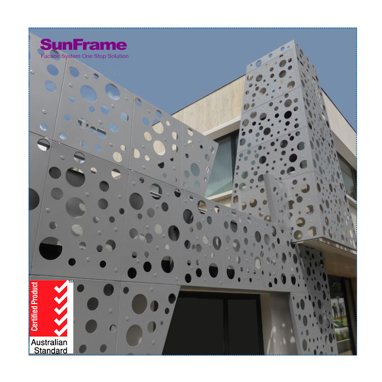 Sun Frame Foshan Factory Price Glass Wall System/Wall Curtain