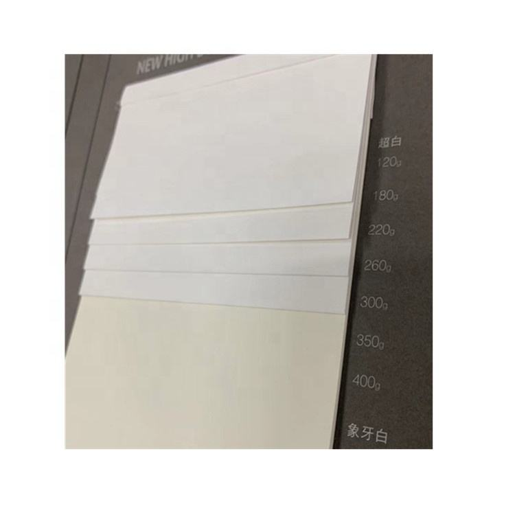 Spotless Slip A4 A5 Sizes Wholesale white Ivory Paper for Card tag gift card