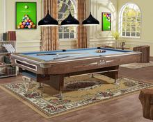 The 6th  9 ball pool table 9ft size table billiard