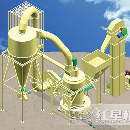High strength 3 rollers limestone,gypsum powder making machine/raymond mill with factory price