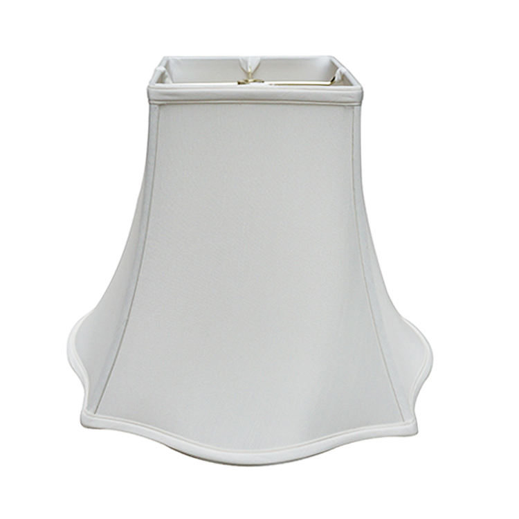 Stylish Stretch Fabric Material Office Fancy White Decorative Table Lamp Lampshade for Sale
