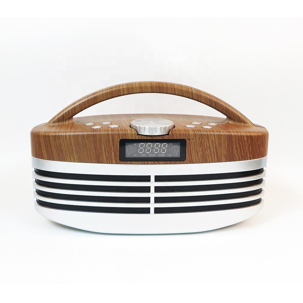 pantalla LCD Radio Deep Bass FM soy WM Radio DAB altavoz portátil activo <span class=keywords><strong>ecualizador</strong></span> Mini Woofer gran amplificador de <span class=keywords><strong>sonido</strong></span>