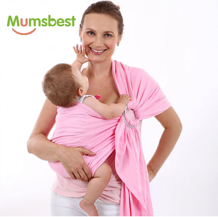 Soft Elastic Durable Baby Wrap Carrier Sling Sleepy Wrap