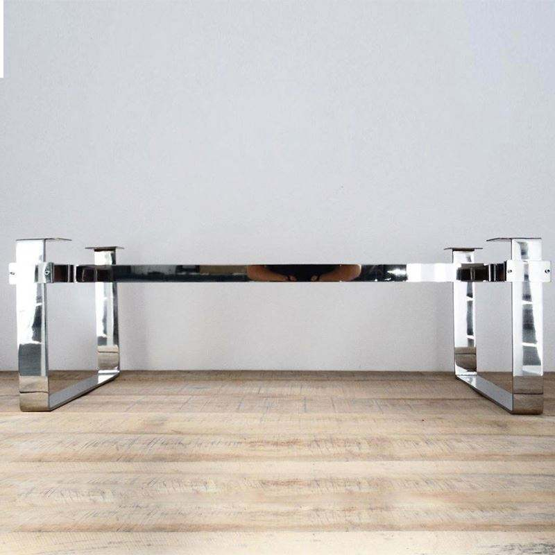 Custom Wholesale Fashion Furniture Stainless Steel Coffee Table Frame