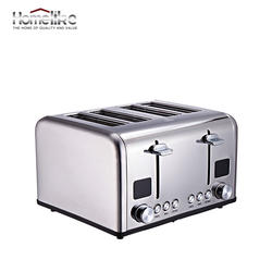 Home appliances 4 Slice Electric Bread Toaster For Home Use