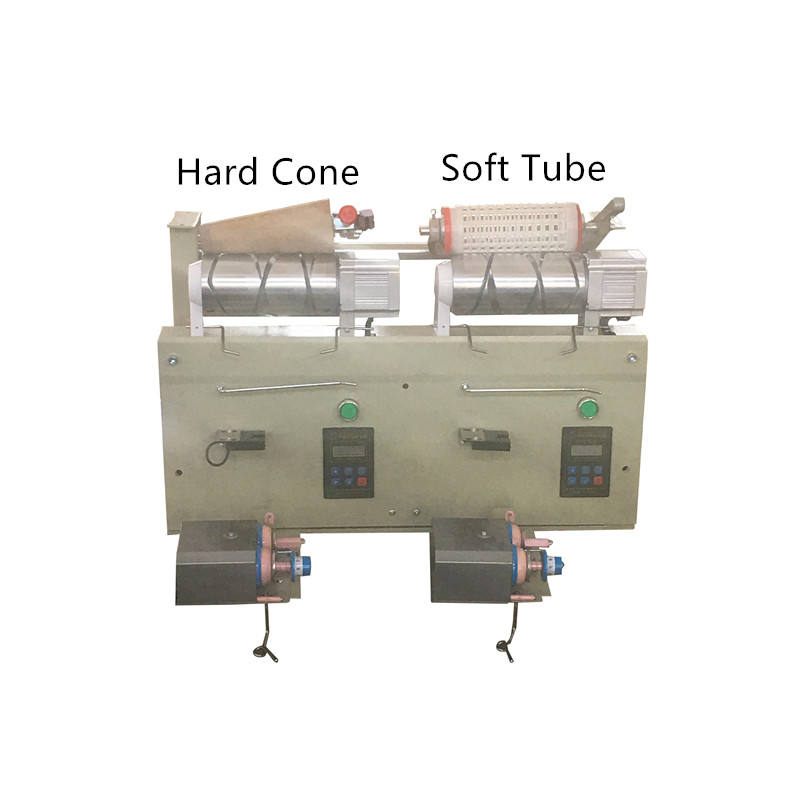 Two Spindles of Yarn Winding Machine
