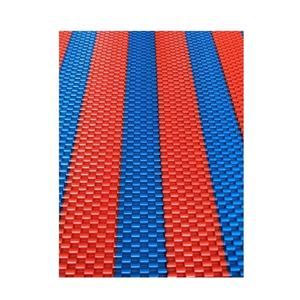 Anti slip waterproof PVC chain roll mat double color floor mat