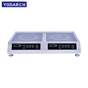 Double Cook 1800W 3500W Touch Control Induction Multi Cooker 2 Burner
