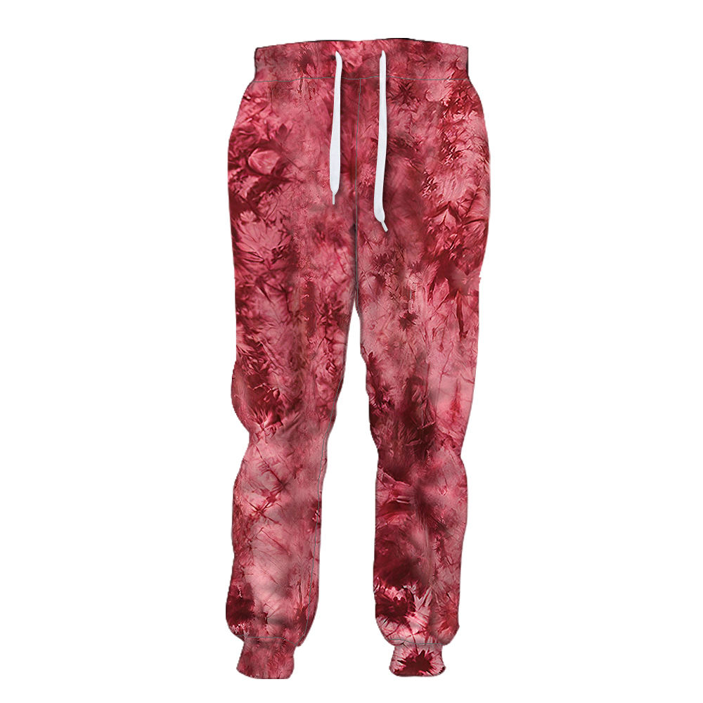 Custom Digital Printing Sexy Trousers Wholesale Men Jogger Sweatpants