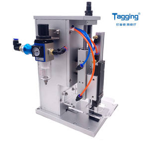 TM 5209 Pneumatic Socks and Towels Tagging Machine with one fine tag needle two free tag needles tagger
