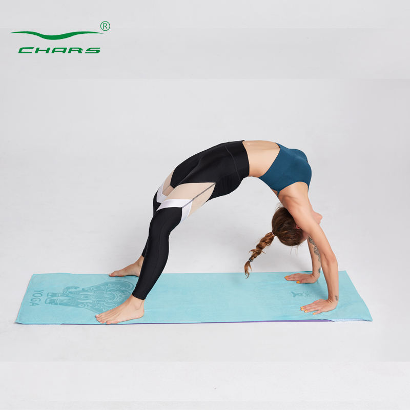 One-Stop Service [ Yoga Blanket ] Towels Print Your Name Custom Logo Print Absorbent Fabric Fitness Gym Microfiber Yoga Towels Sports Printed Non Slip Yoga Blanket Towel