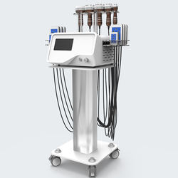 Portable cellulite removal 40k cavitation machine lipo slimming laser body rf vacuum