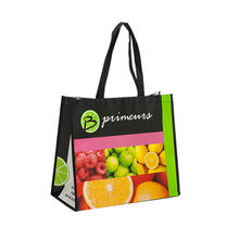 Top Quality Promotion Laminated Non Woven Cute Reusable Sublimation Shopping Bag