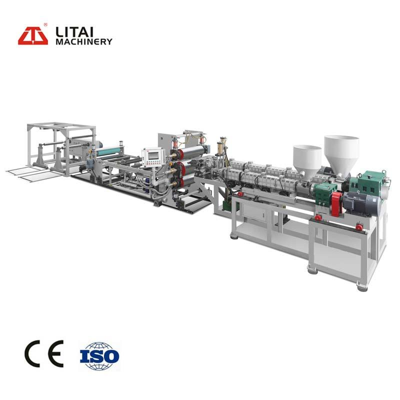 Making Ps Foam Sheet Board Machine Of Double Screw Extruder Parallel Twin-screw Extruder