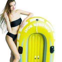 PVC material inflatable boat Single kayak