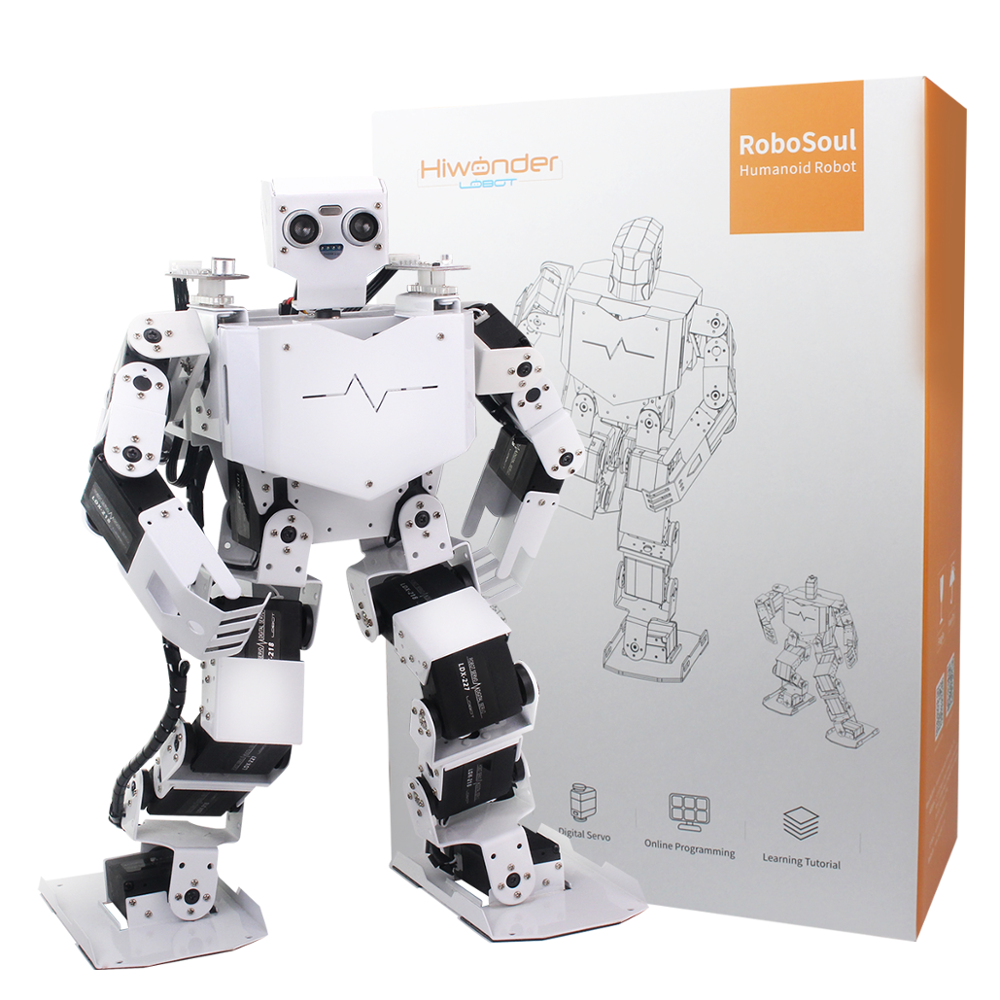 Hiwonder H3P STEAM Education Arduino Humanoid Robot Learning Kit 17DOF Programmable Human Dancing Robot