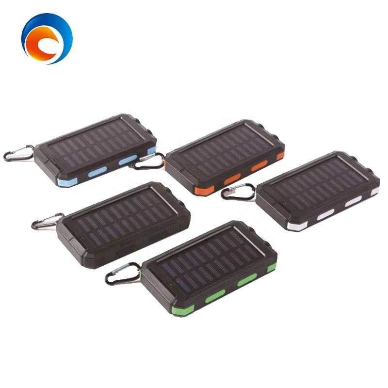 Waterproof 20000mAh IP67 Mobile Power Bank Solar Charger With Compass And LED light