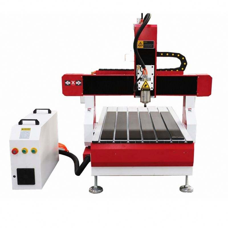 1.5Kw Water Cool Spindle Mini Metal Processing Cnc Milling Machine 4 5 3 Axis