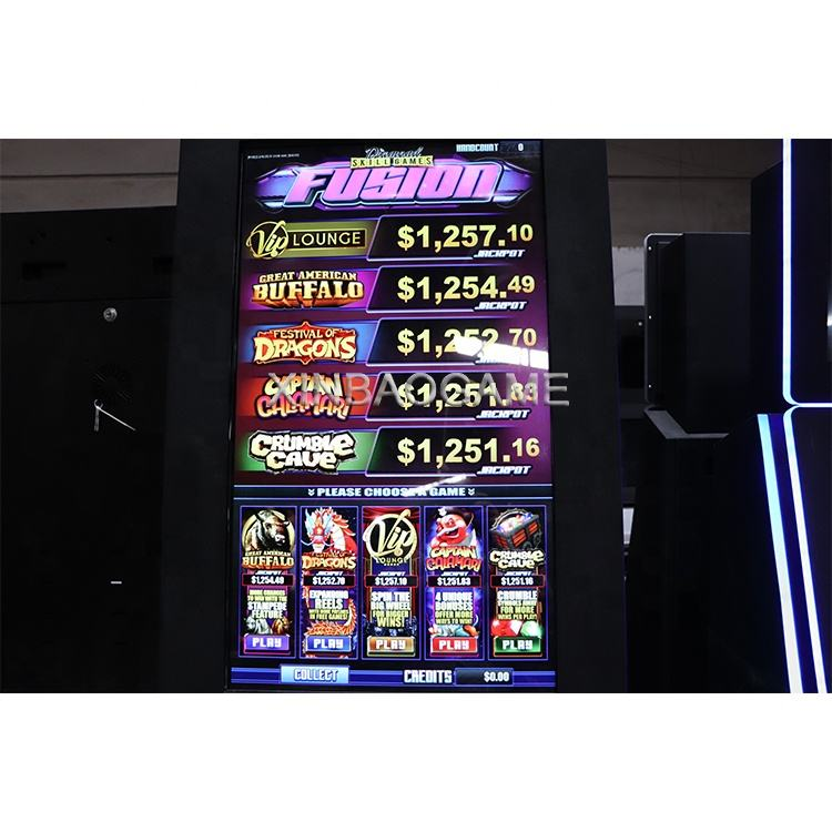 Popular Skill Slot Game Fish Shooting Gambling Arcade Game Machine