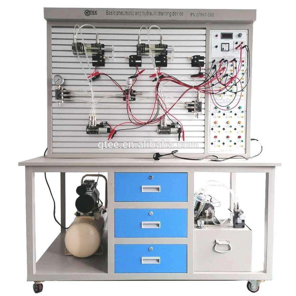 Basic pneumatic and hydraulic training device school laboratory equipment