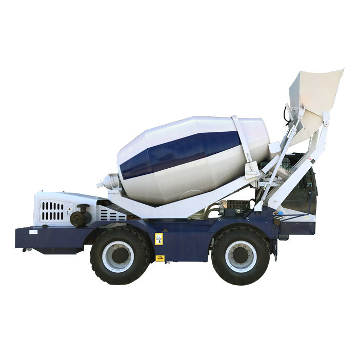 concrete mixer with lister diesel engine self loading concrete mixer