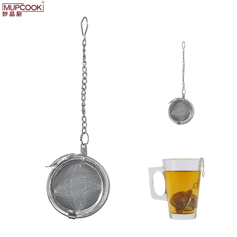 Ball Shape Tea Infuser Stainless Steel Mesh Tea Strainer Tea