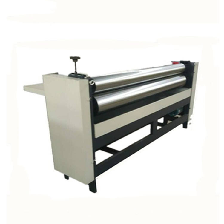 Good quality simple manul operation gluer machine corrugated sheet pasting machine