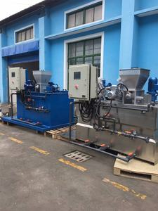 Automatic polyelectrolyte preparation PAM PAC Polymer Powder Dosing System