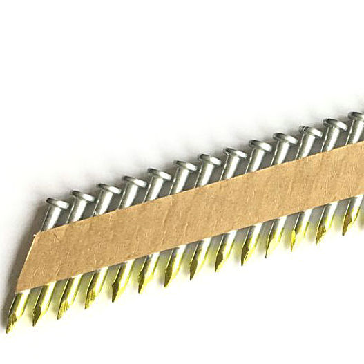 34 Degree Galvanized Paper Tape Collated Joist Hanger framing Nails