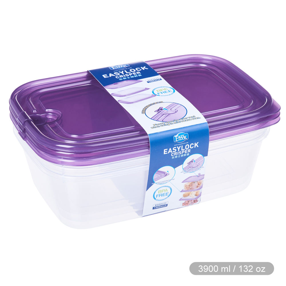 Shantou Houseware Recycled Food Grade Eco-Friendly Stackable Take Away Plastic Fruit Food Box