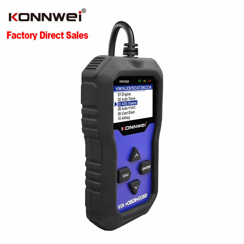 KONNWEI Factory Supply Professional Scanner OBD2 Auto Diagnostic Tool Automobiles Scanner for AUDI/SEAT/SKODA/VW