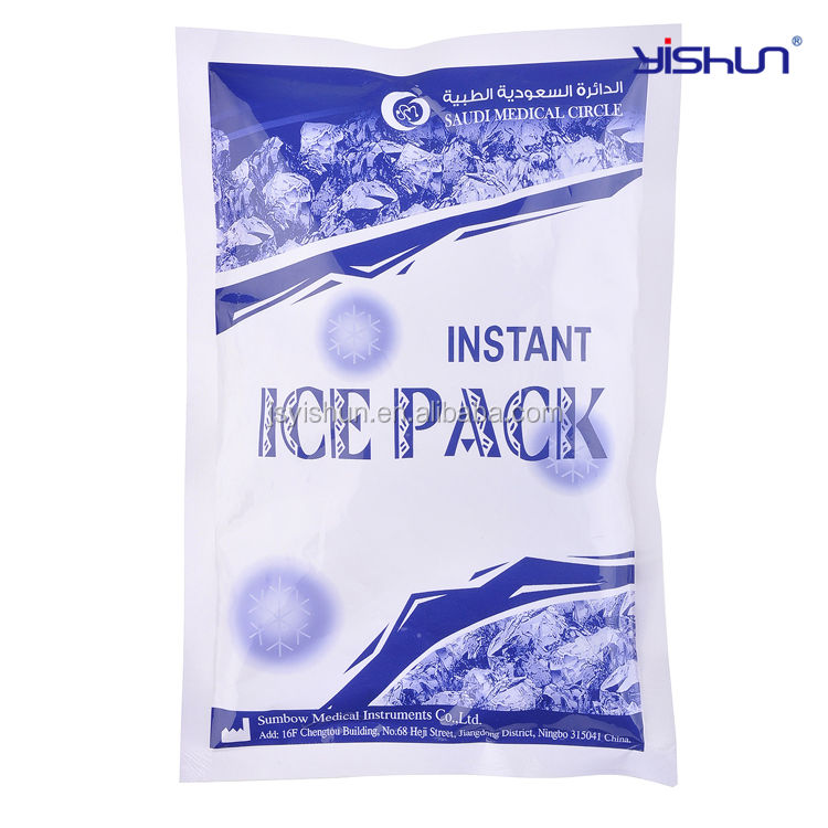 Instant cool pack, wegwerp instant cold pack