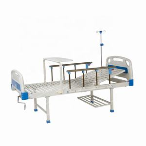 Factory High Quality B1G Hospital Furniture Supplier 1 Crank Nursing Manual Five Function ICU Hospital Sand Bed