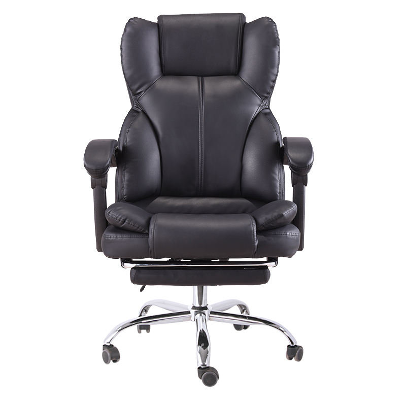 Heavy Duty High Back Pu Leather Chesterfield Ergonomic Relaxing Swivel Office Chair