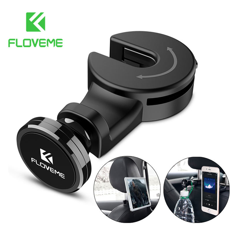 Floveme Universal Tablet Car Holder For iPad Air 1 2 Pro 9.7 10.5 Holder untuk Tablet Di Mobil untuk Samsung xiaomi Aksesoris Tablet