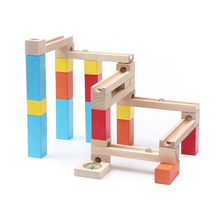 2021  New Arrival Classic Marble Run Kids Wooden Education Toys