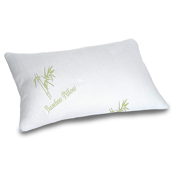 Home Sleeping Comfort Shredded Memory Foam Bamboo Pillow Anti Snore