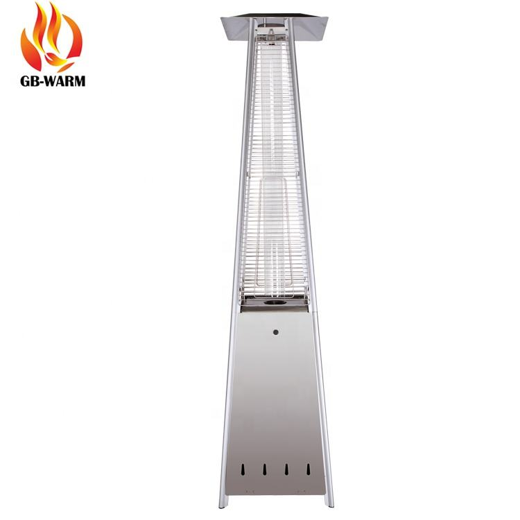 Outdoor Stainless Steel Gas Patio Heaters with CE