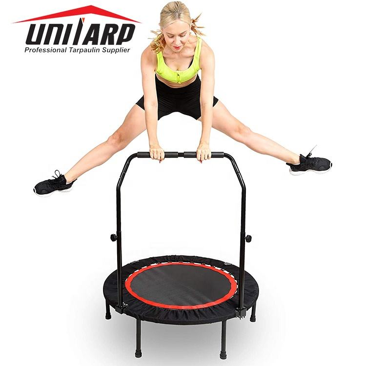 Mini Trampoline for Adults, Indoor Rebounder Exercise Trampoline for Workout