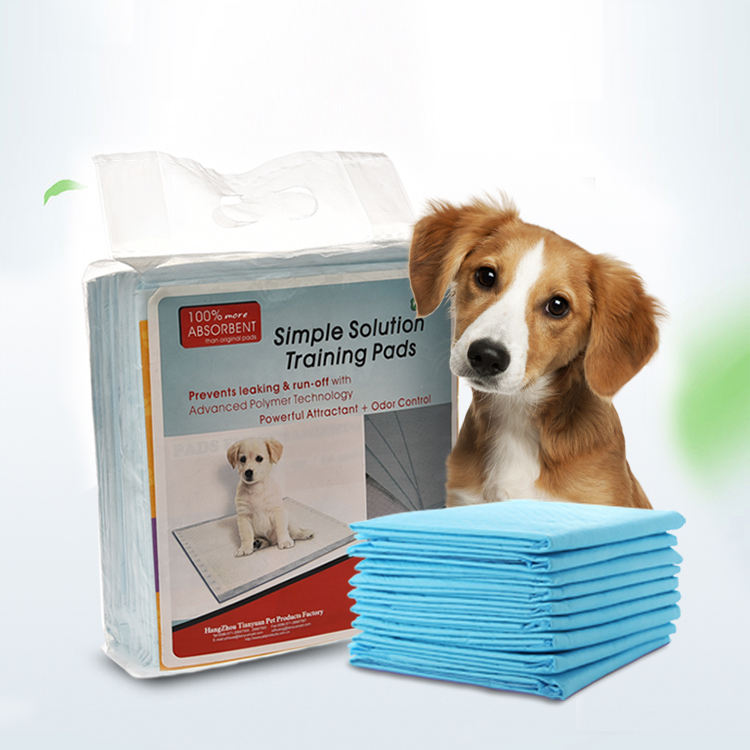 China Supplier Pets And Dogs Accessories Disposable Puppy Training Pee Pads